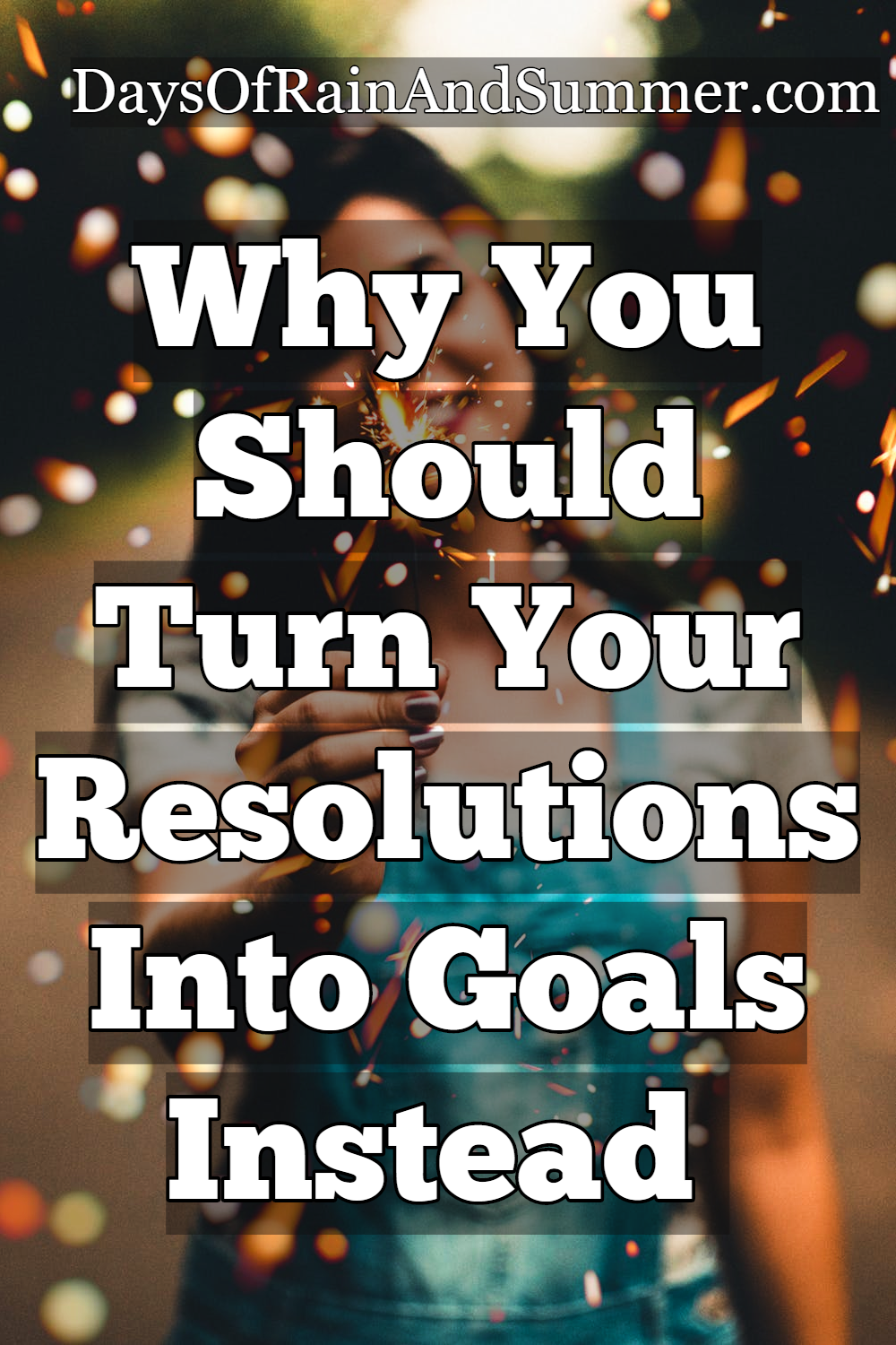 stick to your new year's resolution