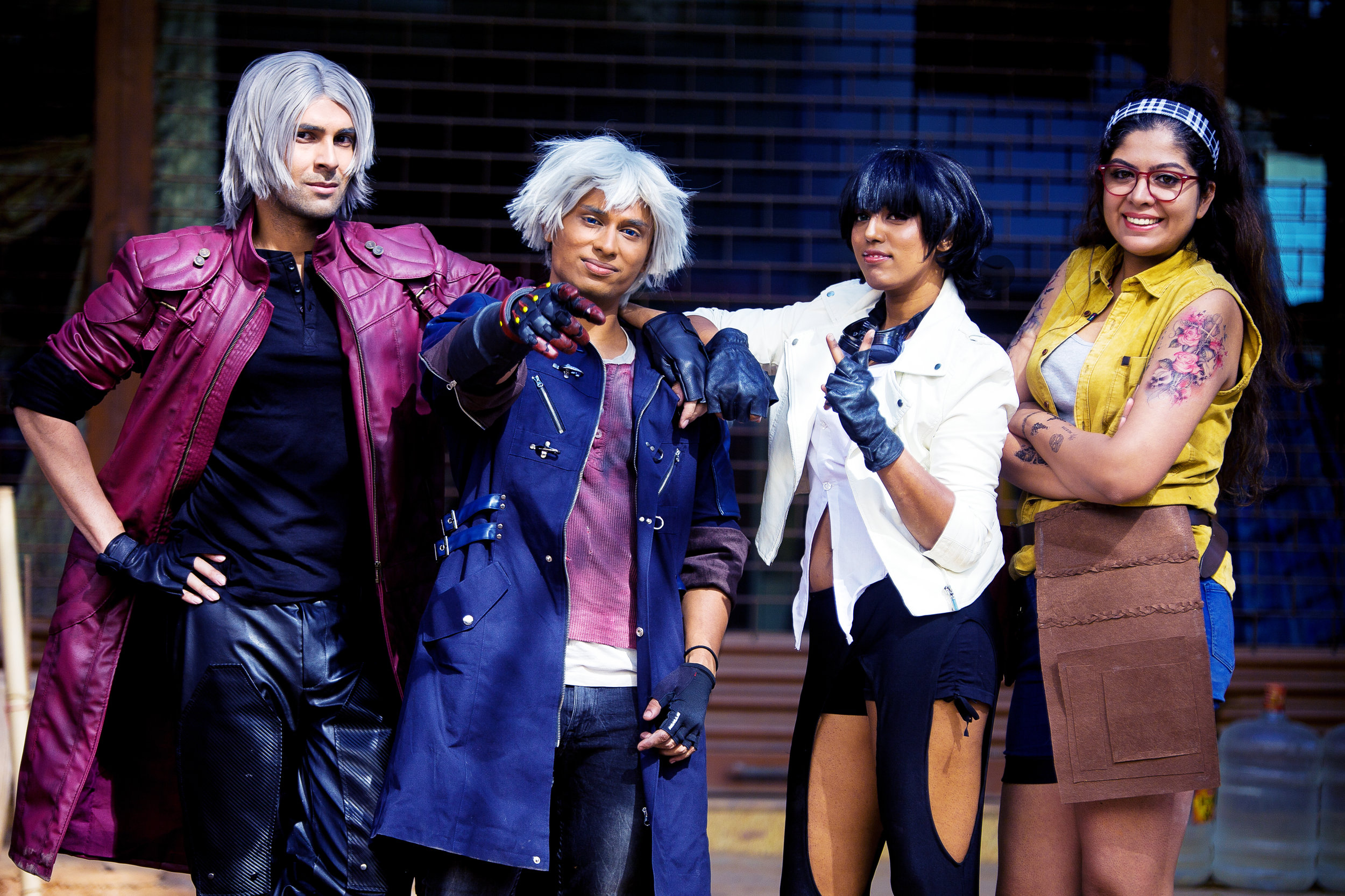 Devil may cry cosplay shoot in India indian cosplayers