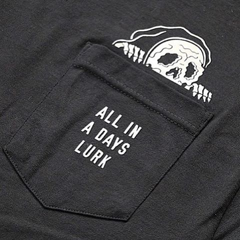All In A Days Lurk tee by Sketchy Tank (SketchyTank.com )