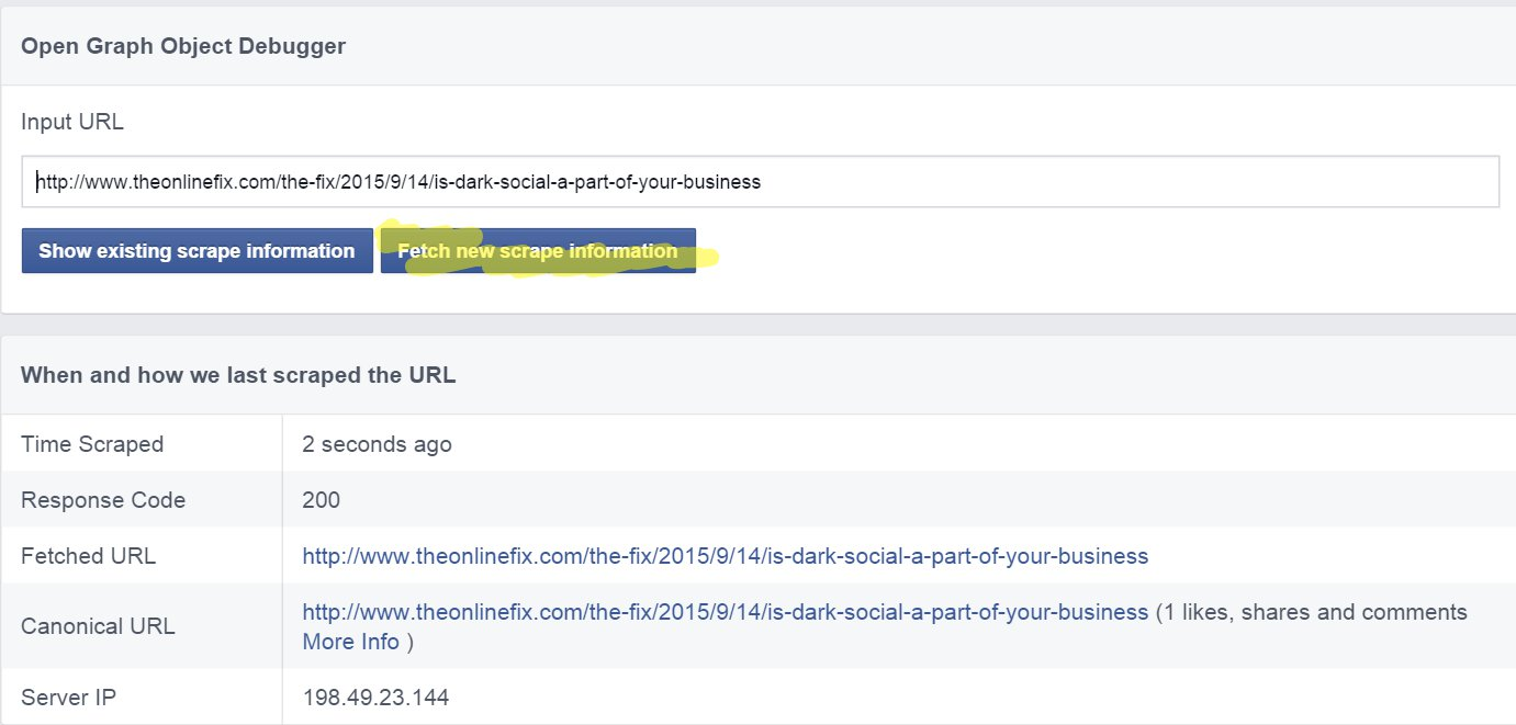 Clearing Facebook cache