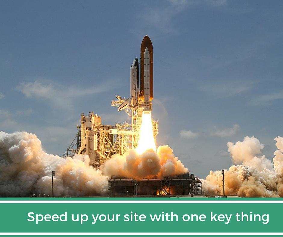 Speed up  your website