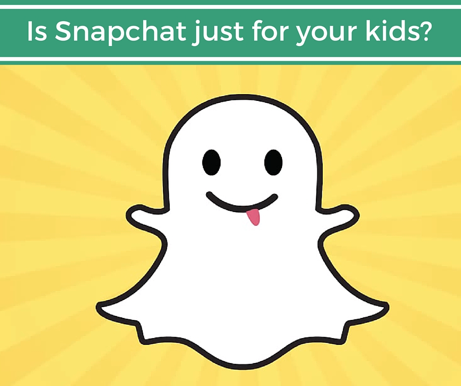 Is Snapchat for business as well as kids?