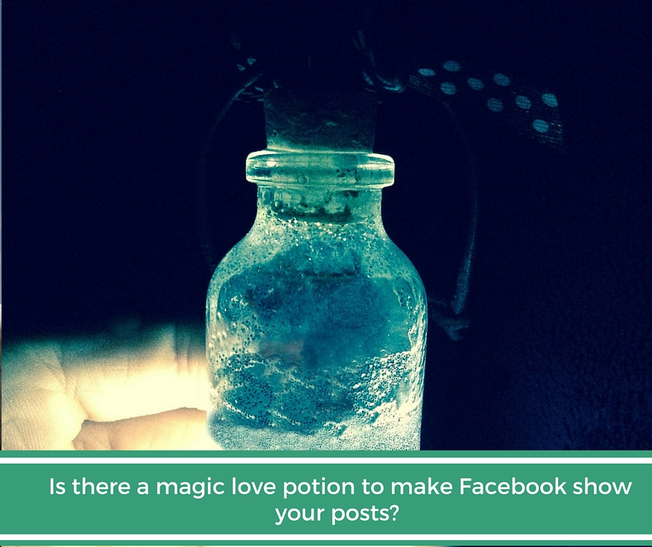 A magic potion for Facebook