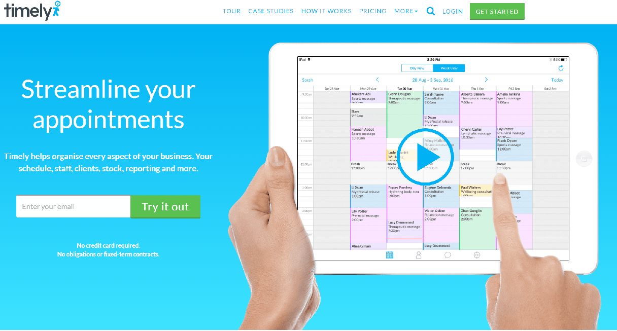 Get timely to do double duty with client bookings and invoicing