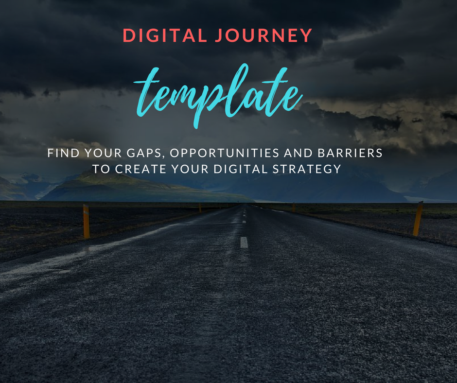 Digital journey template