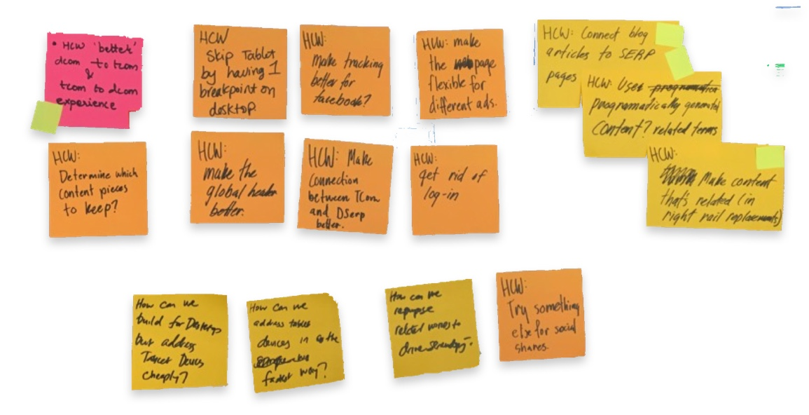 Everyone has ideas. HCWs help prioritize them democratically.