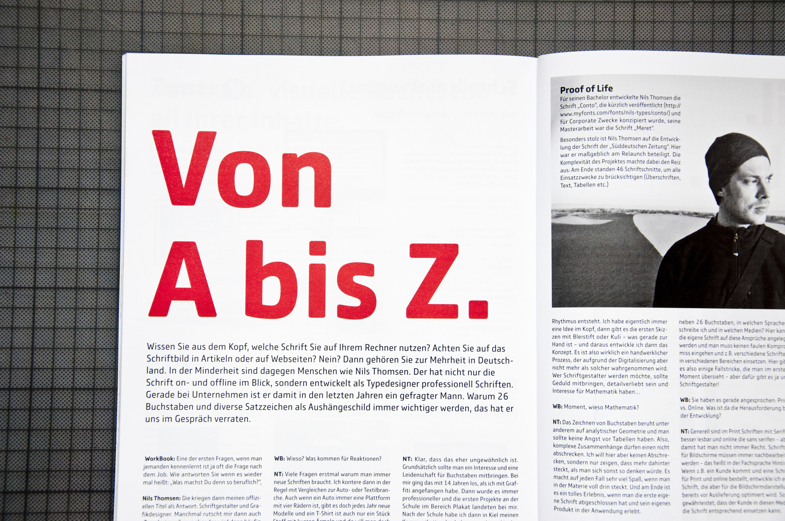 21.06.2015  News / WorkBook interview about Comspot corporate font