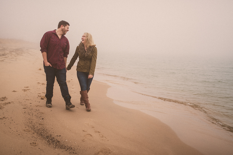 Lake Michigan Engagement - Holland Michigan Wedding Photographer - 094.jpg