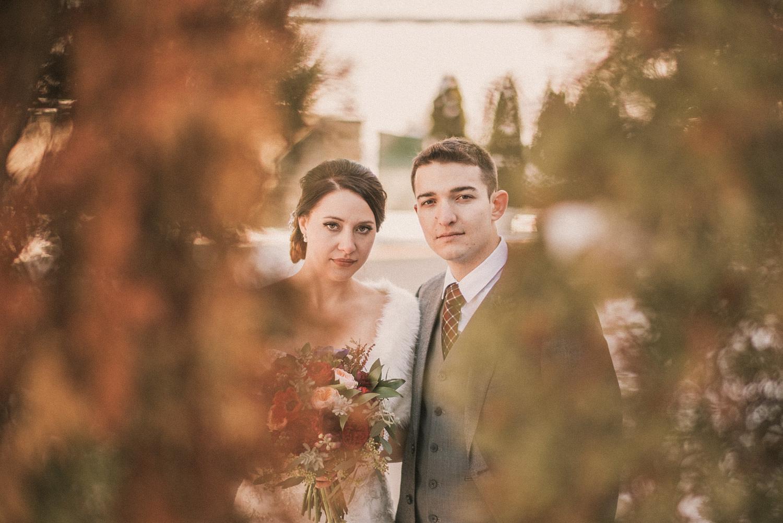 Michigan Wedding Photographer - Grand Rapids Winter Wedding - 035.jpg