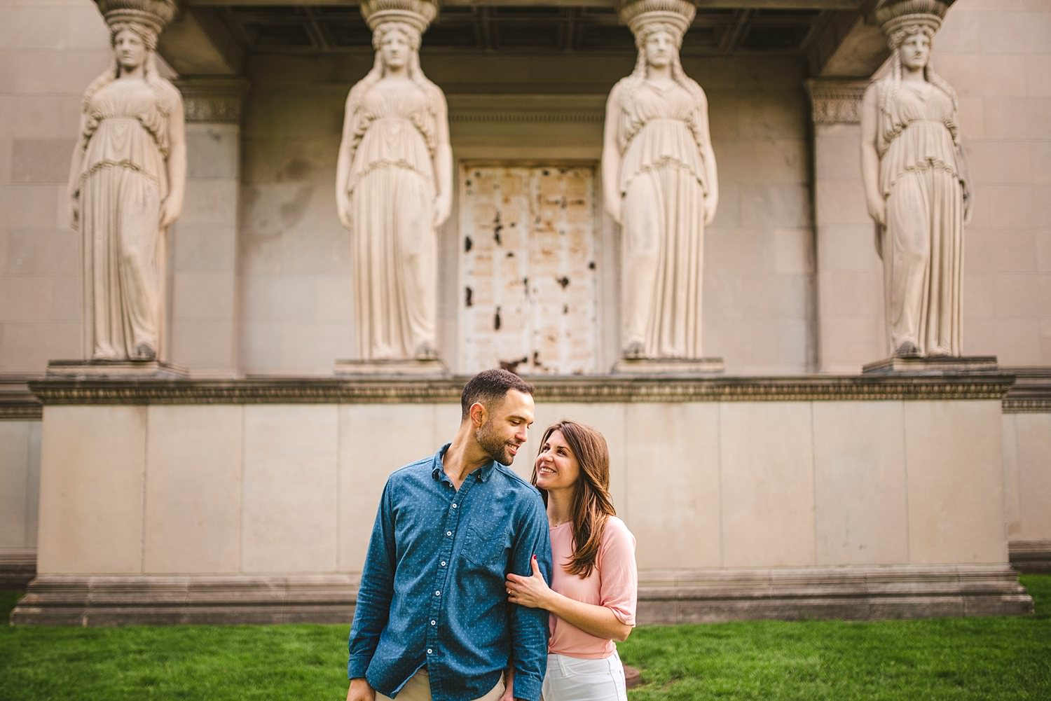 Downtown Chicago Engagement Photos - Museum of Science and Industry Session - Elizabeth and Dan -38.jpg