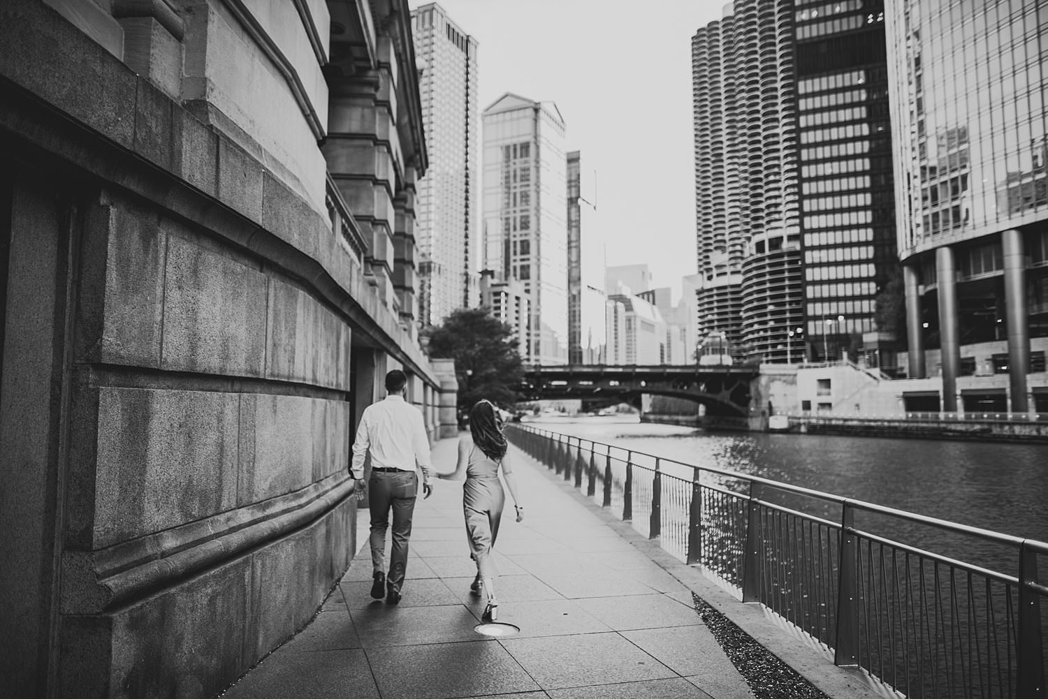 Downtown Chicago Engagement Photos - Museum of Science and Industry Session - Elizabeth and Dan -45.jpg