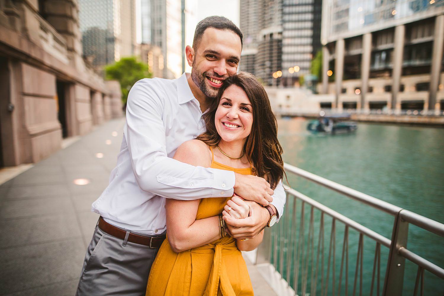 Downtown Chicago Engagement Photos - Museum of Science and Industry Session - Elizabeth and Dan -47.jpg