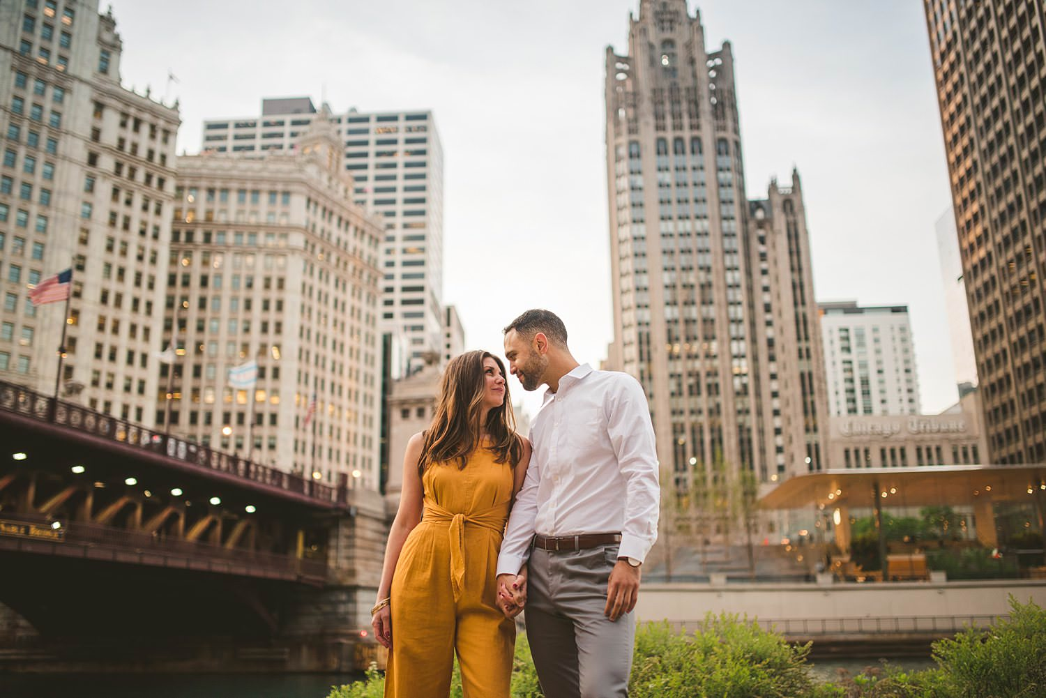 Downtown Chicago Engagement Photos - Museum of Science and Industry Session - Elizabeth and Dan -50.jpg