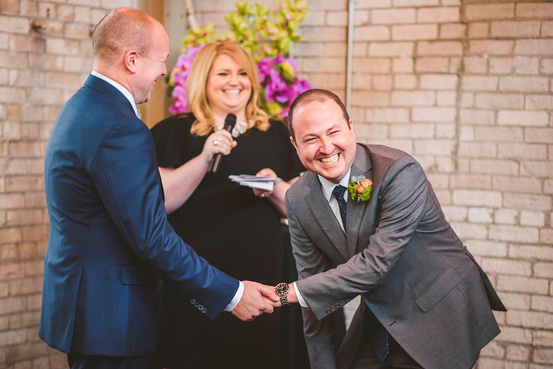 JARED + FRANCIS | HOLLAND, MI WEDDING AT BAKER LOFTS -