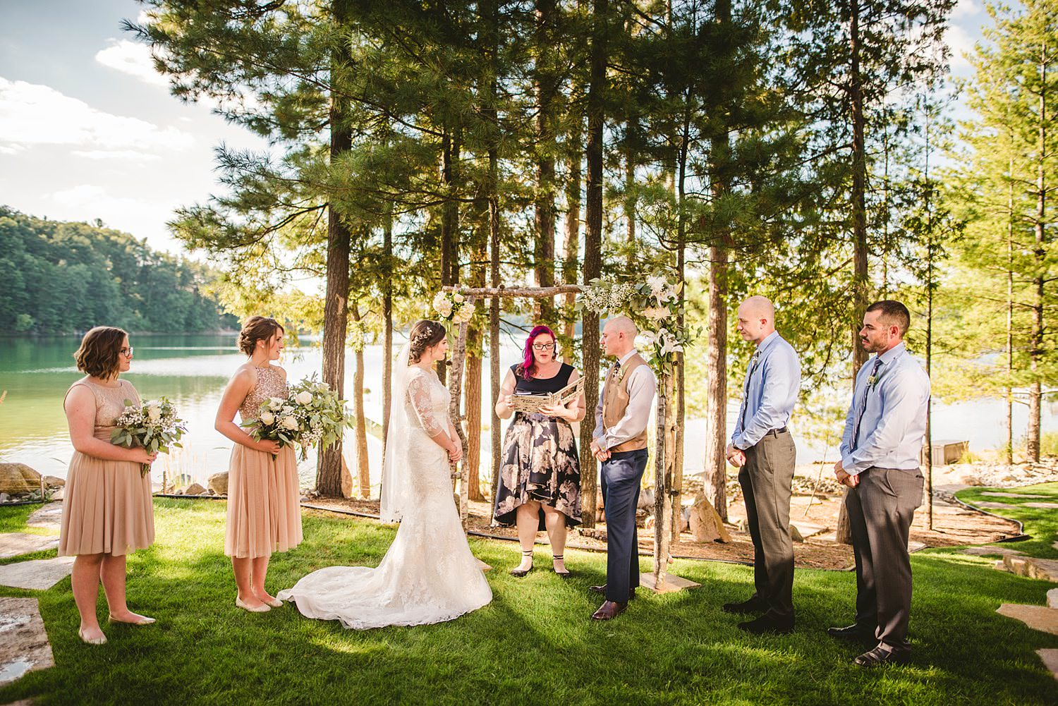 Northern Michigan Nature Backyard Elopement Intimate Wedding 54.jpg