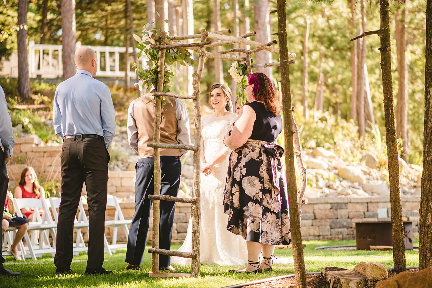 Northern Michigan Nature Backyard Elopement Intimate Wedding 62.jpg