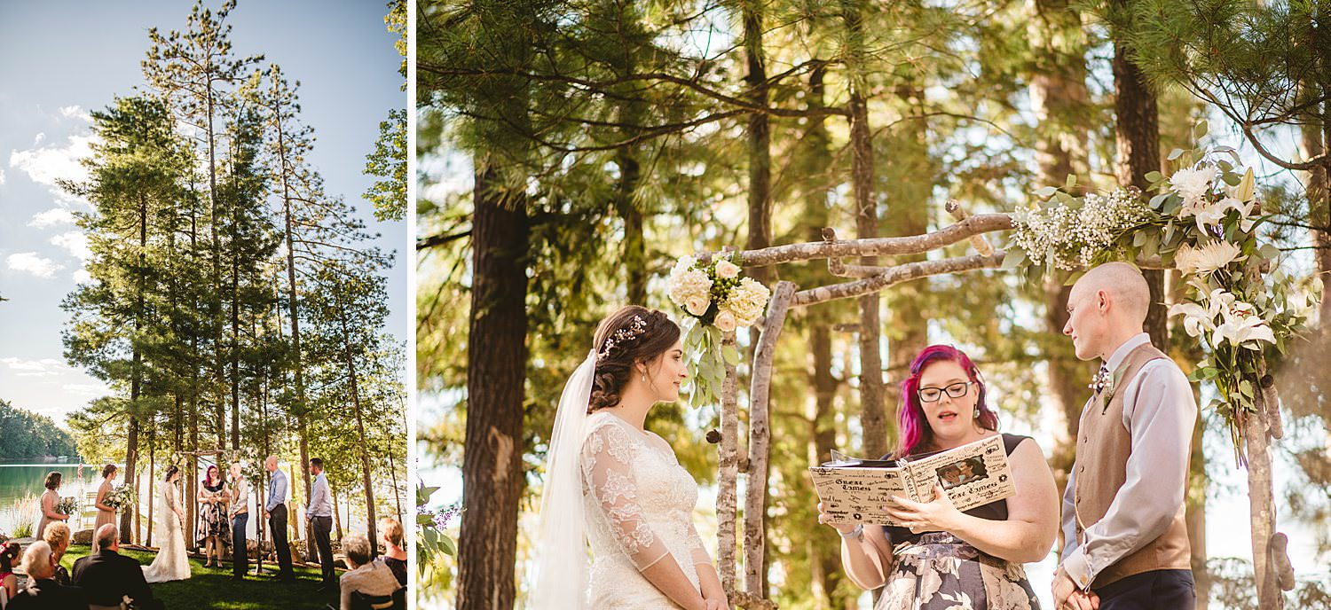 Northern Michigan Nature Backyard Elopement Intimate Wedding 64.jpg
