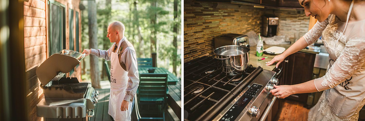 Northern Michigan Nature Backyard Elopement Intimate Wedding 74.jpg