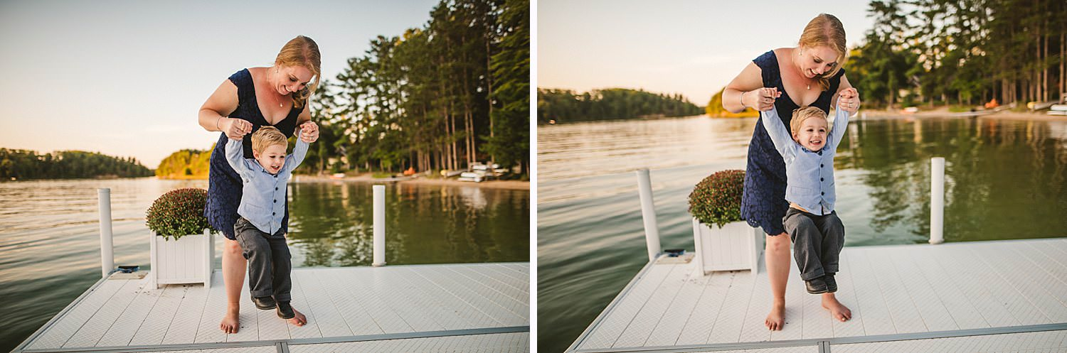 Northern Michigan Nature Backyard Elopement Intimate Wedding 119.jpg