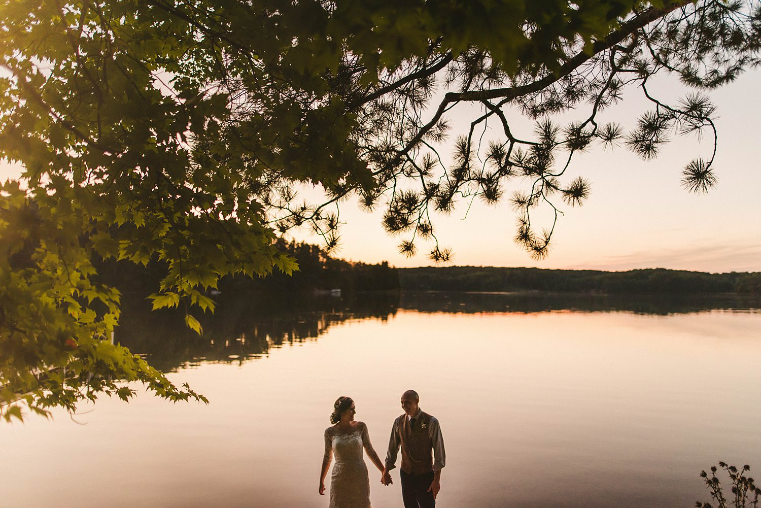 Northern Michigan Nature Backyard Elopement Intimate Wedding 156.jpg