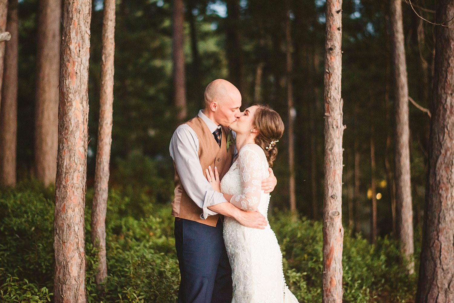 Northern Michigan Nature Backyard Elopement Intimate Wedding 164.jpg