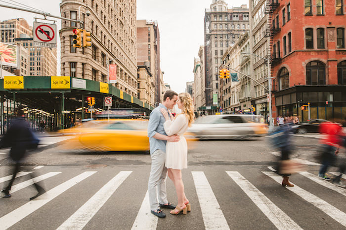 EMMA + ANDREW | NEW YORK CITY ENGAGEMENT SESSION -