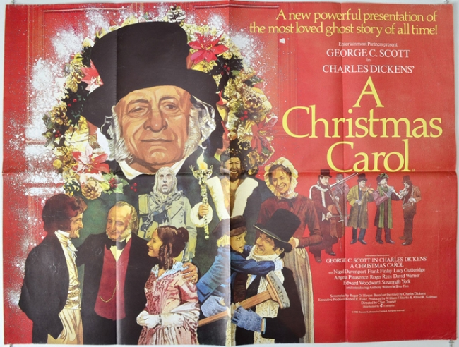 George C Scott A Christmas Carol.A Christmas Carol 1984 Contains Moderate Peril