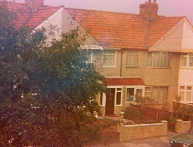 My parent's road circa 1983