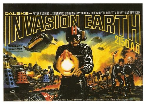 Daleks - Invasion Earth 2150 A.D. (1966) — Contains Moderate Peril