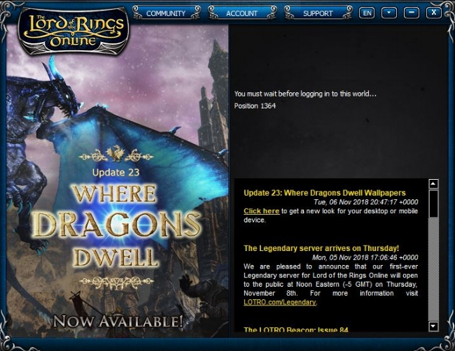 LOTRO Legendary Server Launch (2).JPG