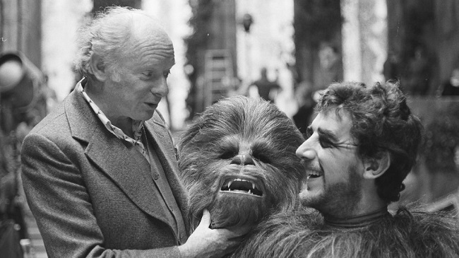 Stuart Freeborn and Peter Mayhew