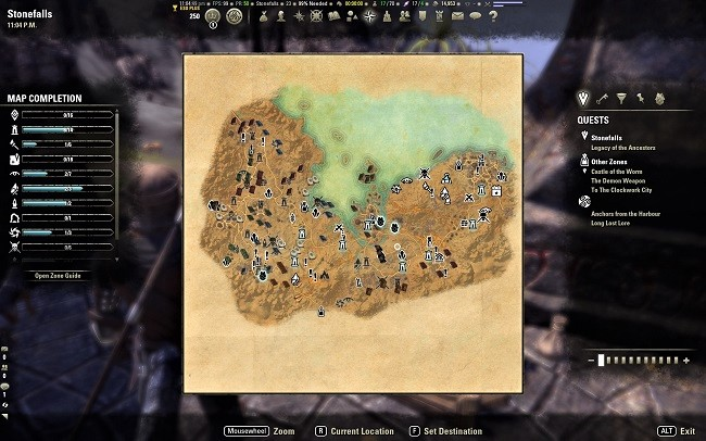 Zone Guides in The Elder Scrolls Online offer more than just a simple map