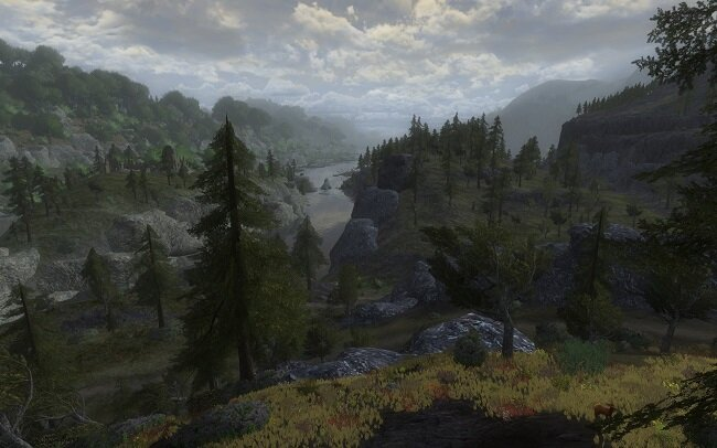 LOTRO: Day, Night and Weather Cycle