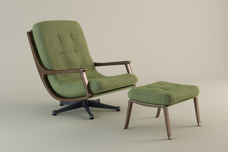Loungechair Antik