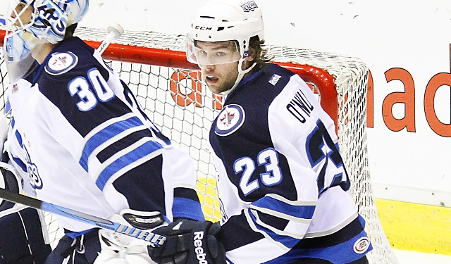 Will O,Neill with the St.John's IceCaps