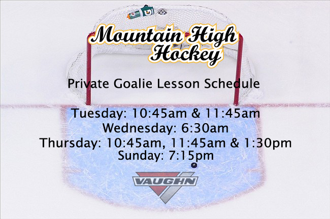 goalie.lesson.schedule.colorado