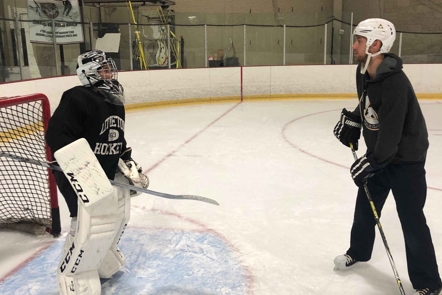 Jake Larson - Jake Larson grew up playing youth hockey in Colorado before moving out of state to play Junior A. Jake has extensive knowledge working with youth goalies having served as the goalie coach for the Arapahoe Learn to Play Program, Heritage High School (2014-2017) and working with MHH have for the past two seasons.