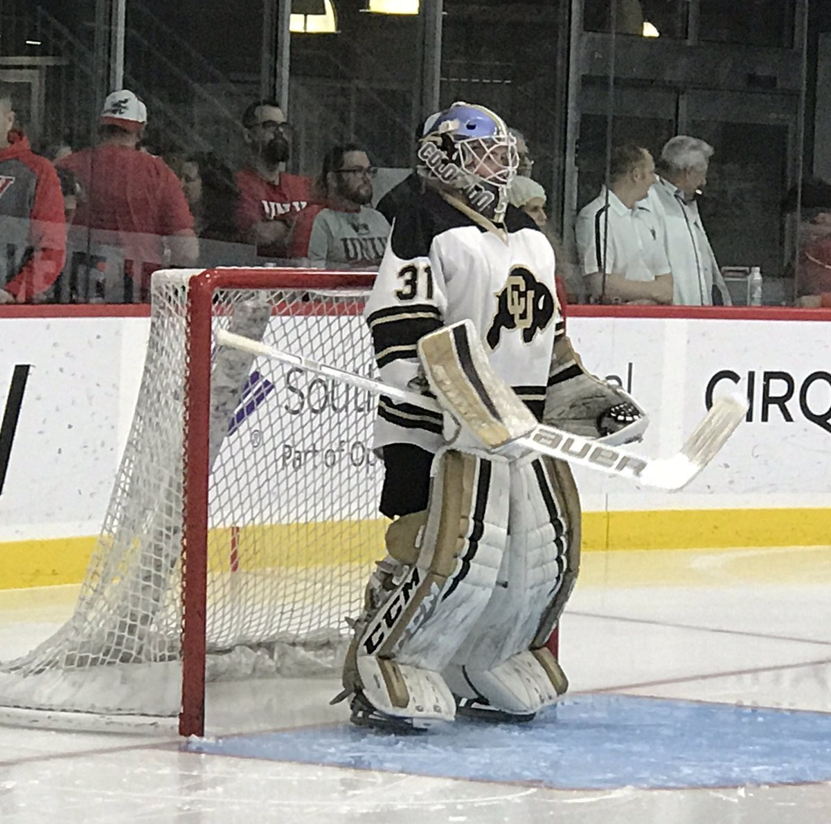 Colin Champine - Coach Champine is a lead goalie instructor with the MHH Goalie Club having been coaching with the club for the past two seasons after graduating from CU Boulder.