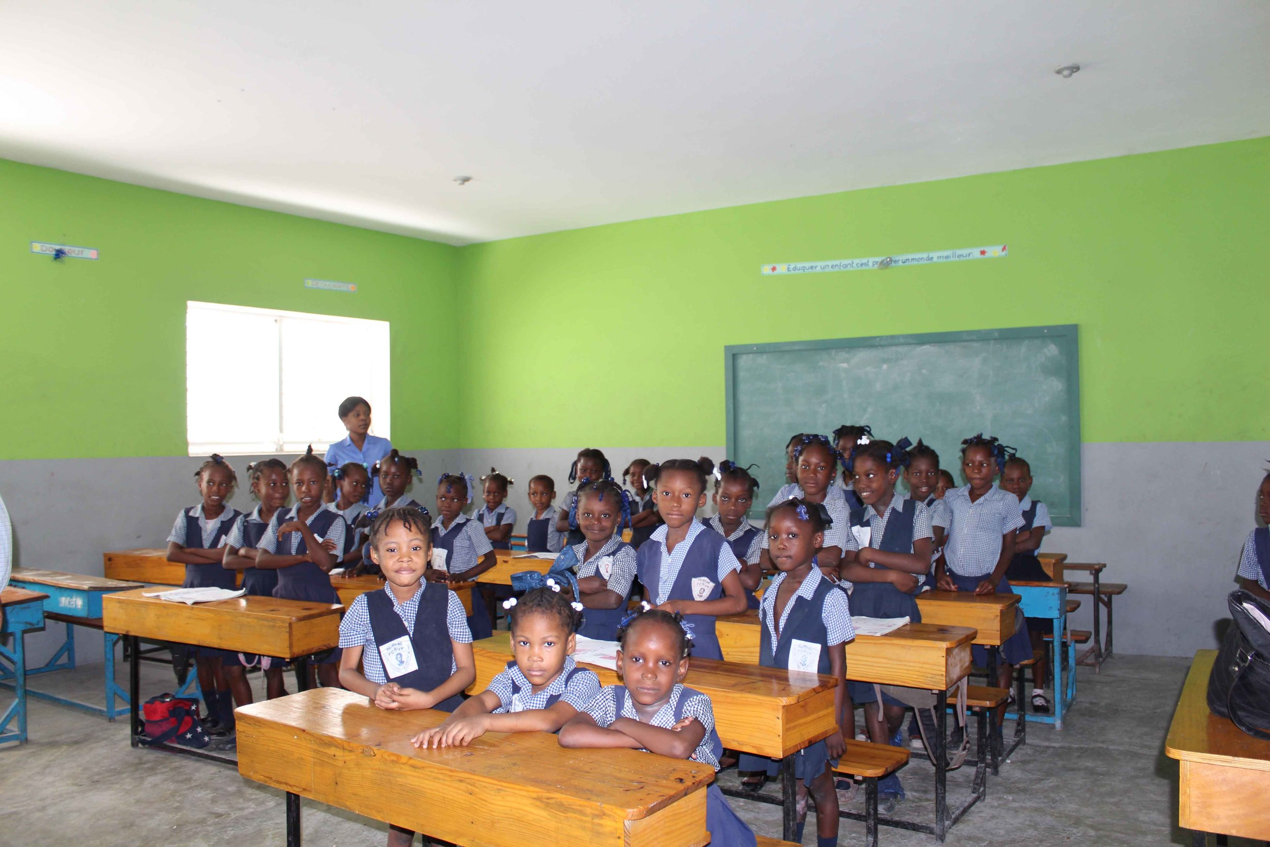 Sponsor the class of  1ere Année Fondamentale A     $150 a month or $1800 a year