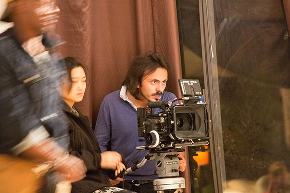 DP, Mich Castro, during a take