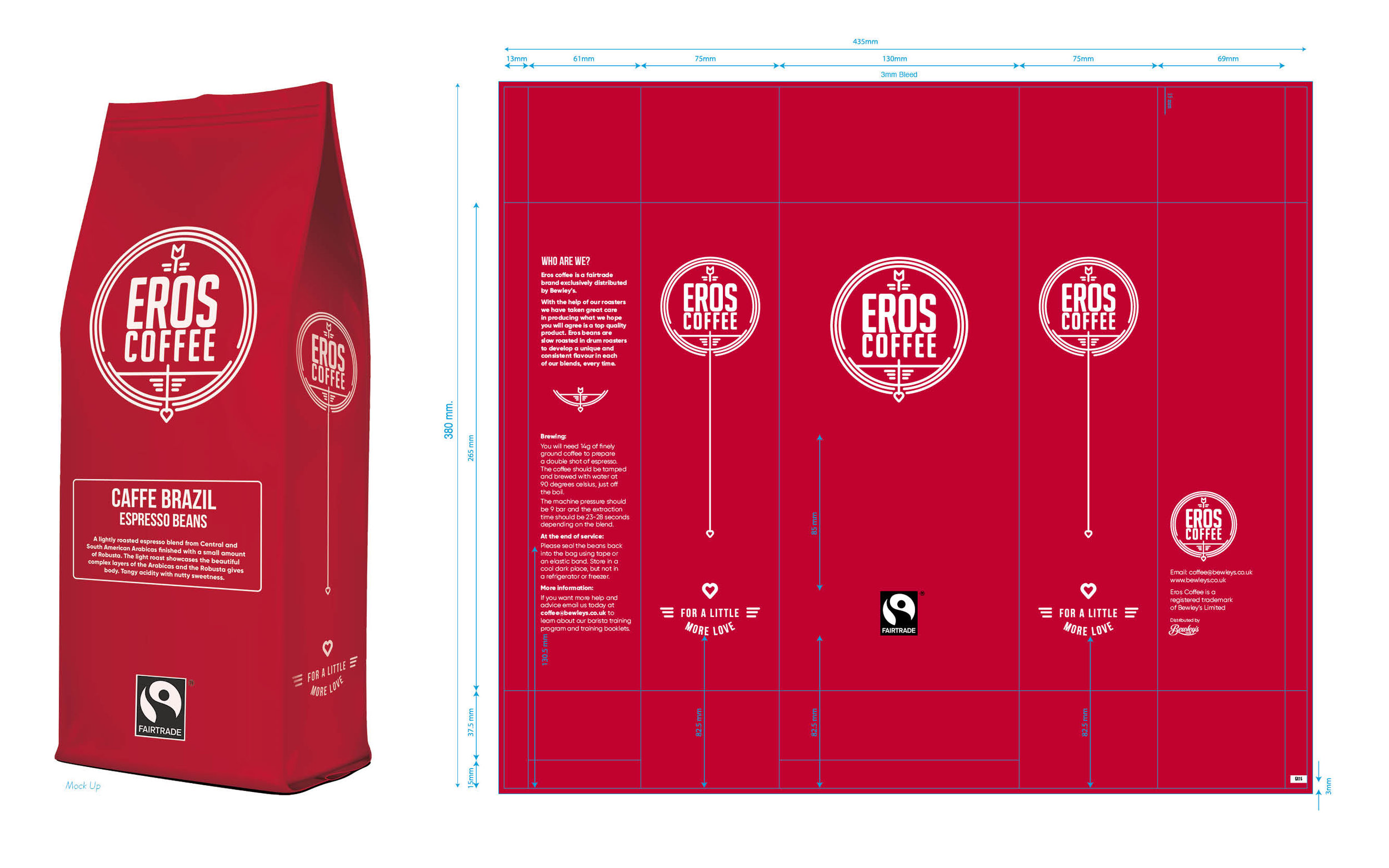 EROS COFFEE PACKAGING UPDATE