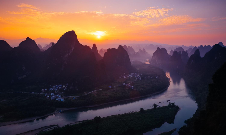 """""""The best landscape under heaven"""", Li Jiang"""