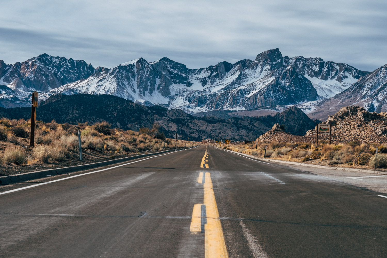 Eastern Sierras, CA. Books are like open roads taking us to fascinating journeys of discoveries...of our own selves, and of the world around us...
