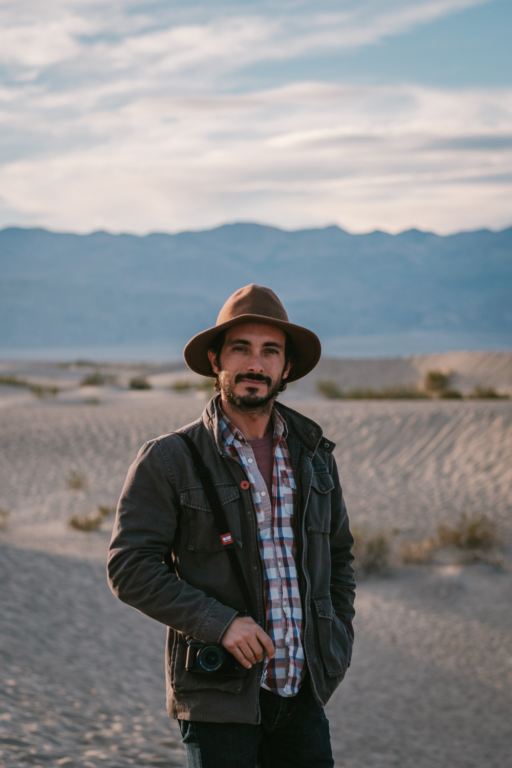 Portrait made by my beautiful wife during our time at Death Valley National Park, last December