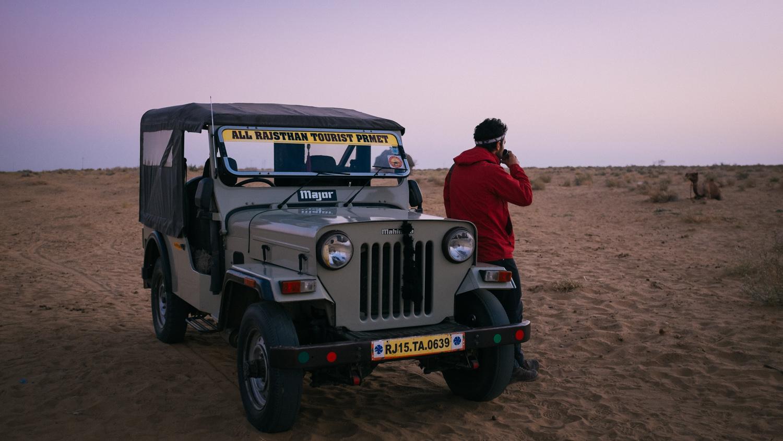 Rajasthan desert, India, 2014.