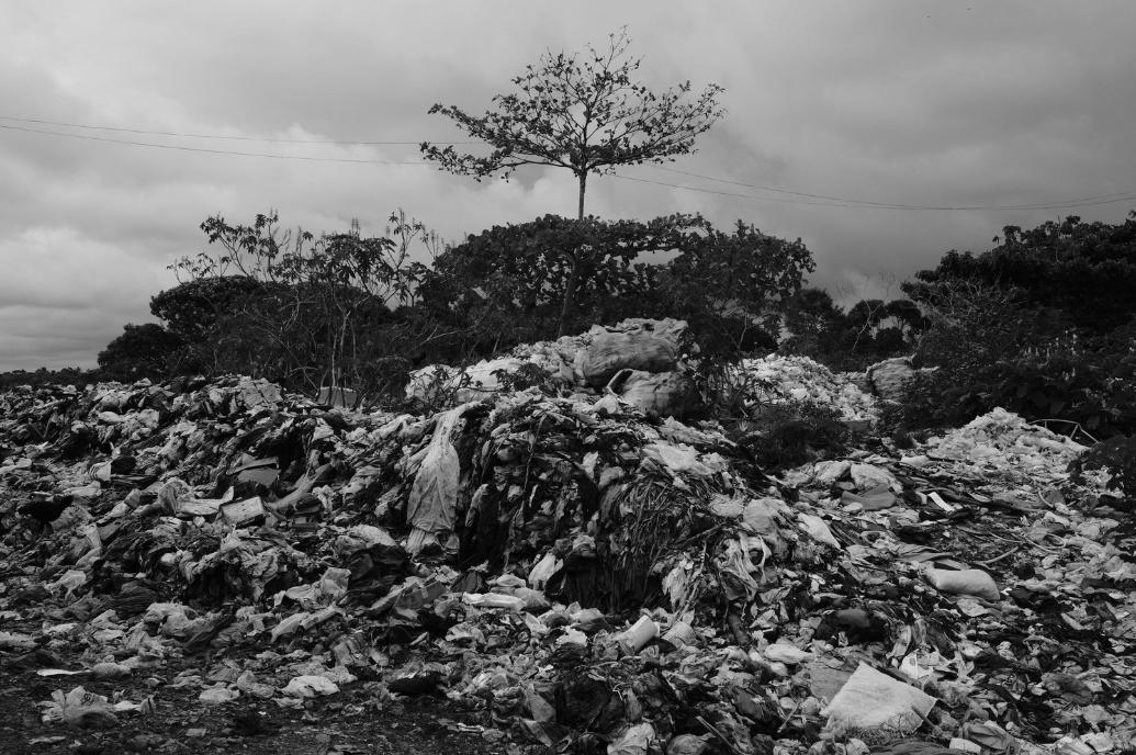 Dumpsite in Itacaré, Bahia - Brazil