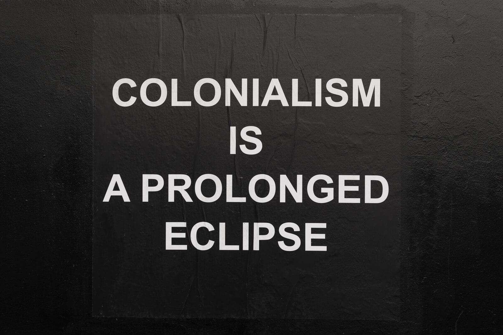 Colonial Eclipse