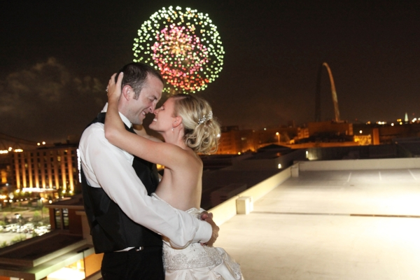 Ending Shot of Wedding