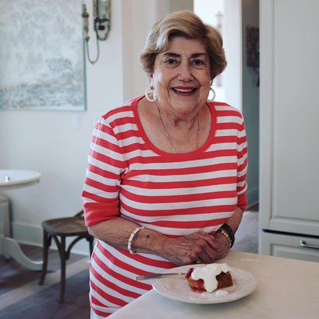 Ayia matches the strawberry shortcake I made. #pantone #fambeachvacay