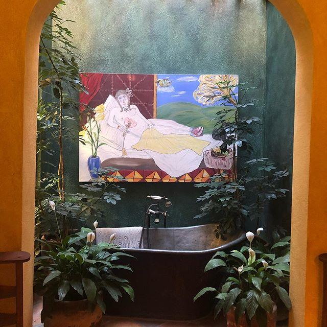 San Miguel! #sanmigueldeallende #bathroominspo #tile #dogsofinstagram
